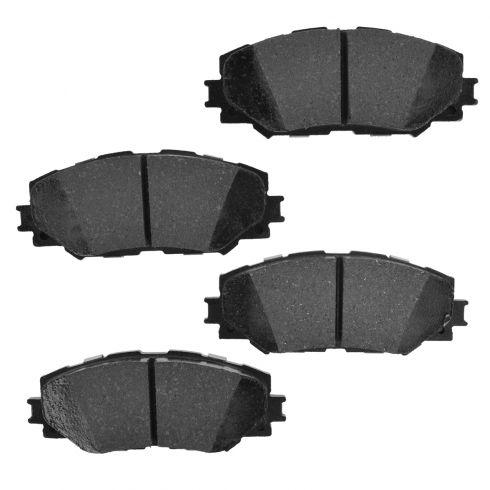Front Element 3 Hybrid Disc Brake Pads w/ HW (Raybestos EHT1210H)