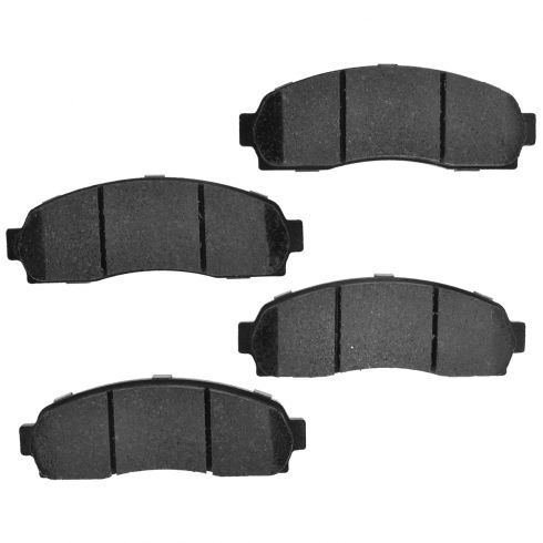 Front Element 3 Hybrid Disc Brake Pads w/ HW (Raybestos EHT833H)
