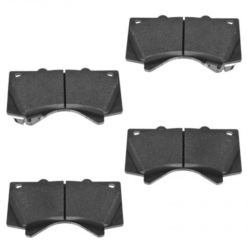 07-14 Toyota Tundra; 08-14 Sequoia Semi-Metallic Front Disc Brake Pad Set (Toyota)