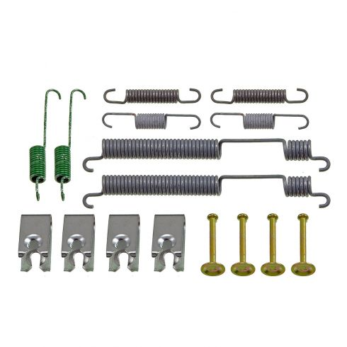 00-01 Nissan Altima Rear Brake Drum Hardware & Spring Kit LR & RR
