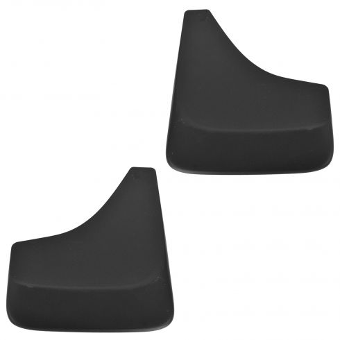 82-11 Chevy, Olds, Pntiac, Buick, Cady Multifit Front or Rear Molded Mud Flap Splash Guard PAIR (GM)
