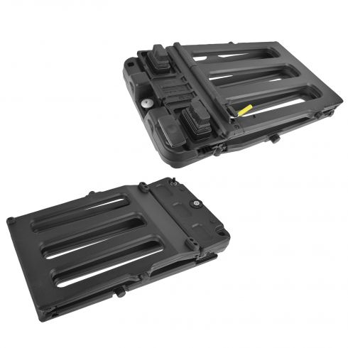 08-15 Ford F250SD-F550SD Black Stowable Bed Tailgate Extender Kit (Ford)