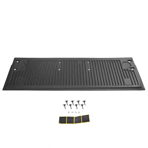 15-16 Ford F150 Tailgate Mounted Black Plastic Molded Inner Tailgate Liner Protector w/Hrdwre (Ford)