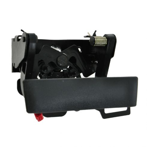 Tailgate Handle with Lock Provision