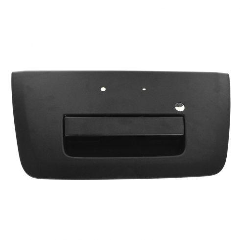 05-12 Nissan Frontier Textured Black Tailgate Handle w/Bezel (w/Keyhole)