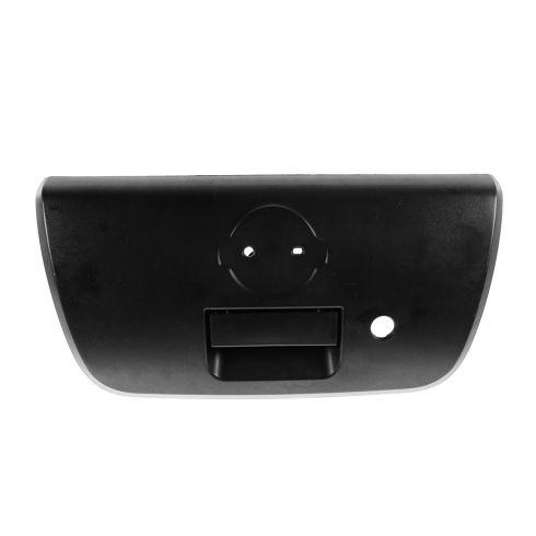 01-04 Nissan Frontier Textured Black Tailgate Handle w/Bezel (w/Keyhole)