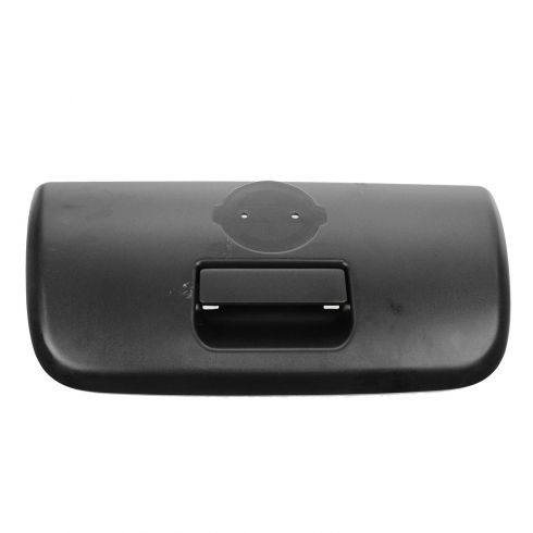 01-04 Nissan Frontier Textured Black Tailgate Handle w/Bezel (w/o Keyhole)