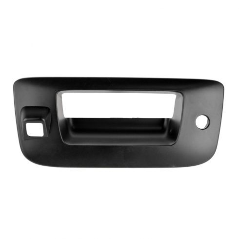 07-13 Silverado, Sierra New Body PTM Tailgate Handle Bezel (w/Keyhole & w/Camera Hole)
