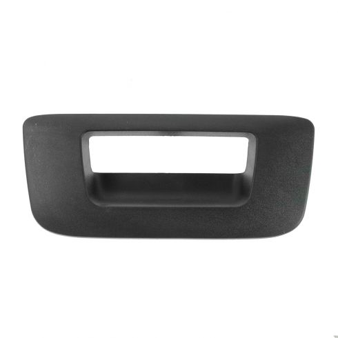 07-13 Silverado, Sierra New Body Textured Black Tailgate Handle Bezel