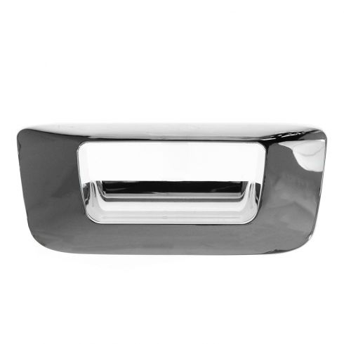 07-13 Silverado, Sierra New Body ALL CHROME Tailgate Handle Bezel