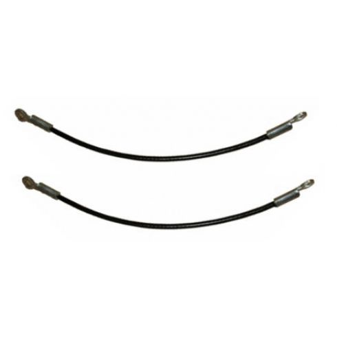 1995-05 GMC Olds Envoy Bravada Tailgate Cable Pair