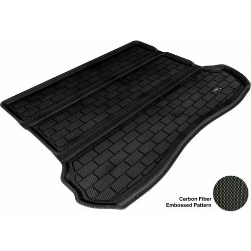 2005-10 Jeep Grand Cherokee Black Cargo Floor Liner