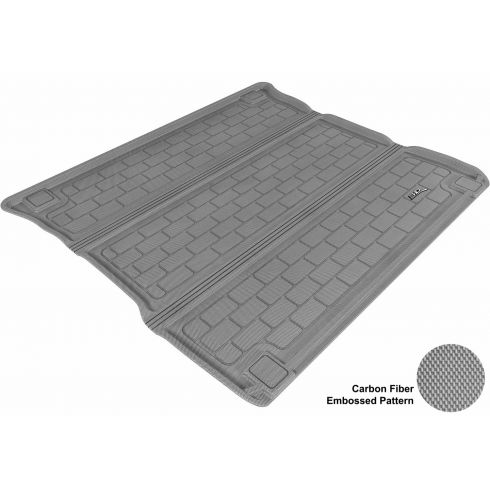 2011- Jeep Grand Cherokee, Dodge Durango Gray Cargo Floor Liner