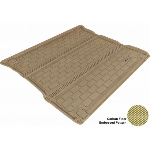 2011- Jeep Grand Cherokee, Dodge Durango Tan Cargo Floor Liner