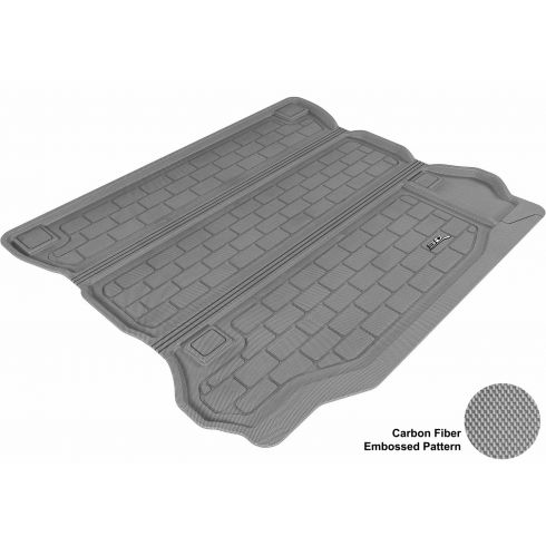 07-13 Jeep Wrangler Unlimited Gray Cargo Floor Liner