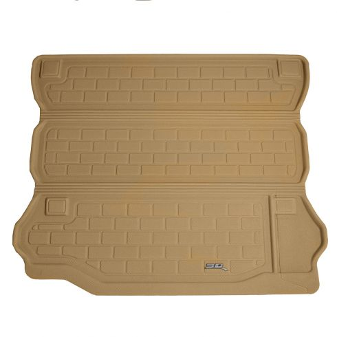 07-13 Jeep Wrangler Unlimited Tan Cargo Floor Liner