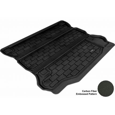 07-13 Jeep Wrangler Unlimited Black Cargo Floor Liner