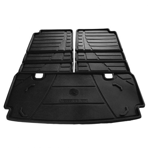 07-09 MB GL320; 07-12 GL450; 10-12 GL350; 08-12 GL550 Blk Foldable Rear Cargo Tray Liner (Mer Benz)