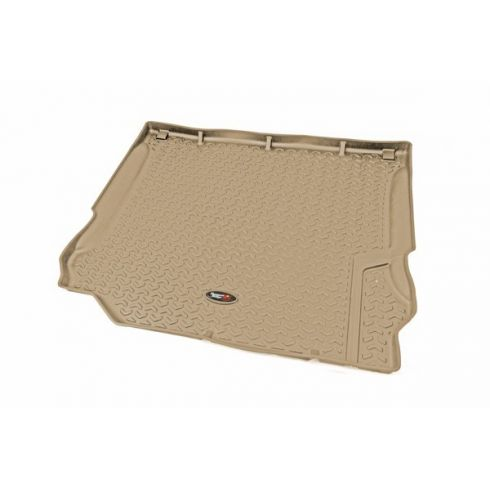 07-10 Jeep Wrangler (2DR/4DR) Tan Cargo Liner (Rugged Ridge)