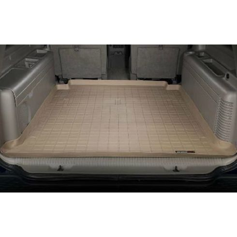 2000-06 Chevy Suburban GMC Yukon XL 4-1/2 Foot Tan Cargo Floor Liner