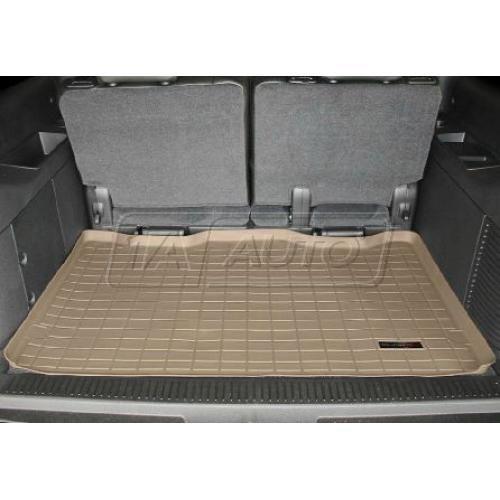 2007-11 Chevy Suburban GMC Yukon XL w/3rd Row Seat Tan Cargo Floor Liner