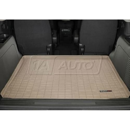 2007-11 Chevy Tahoe GMC Yukon Behind 2nd Row Seat (w/o 3rd Row) Tan Cargo Floor Liner