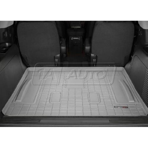 2007-11 Chevy Tahoe Cadillac Escalade GMC Yukon Behind 2nd Row Seat (w/3rd Row) Gray Cargo Floor Liner
