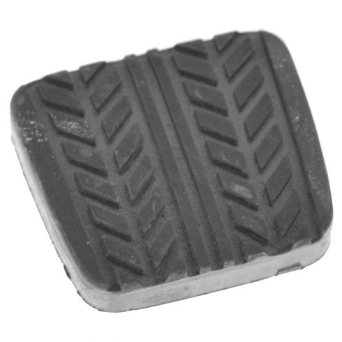 89-97 Probe; 98-03 Escort ZX2; 86-03 Mazda Multifit Brake or Clutch Mld Blk Rubber Pedal Pad (Ford)