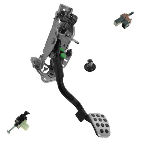 04-08 Mazda RX-8 Clutch Pedal Assembly w/Starter Interlock & Clutch Pedal Position Switch (Mazda)