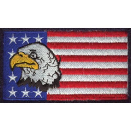 US Flag with Eagle Logo