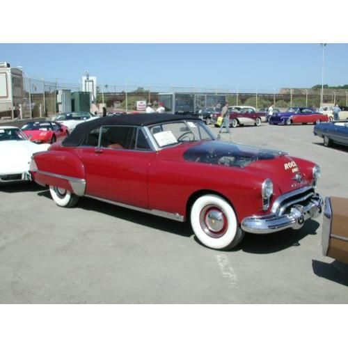1948-49 Convertible Top Cloth