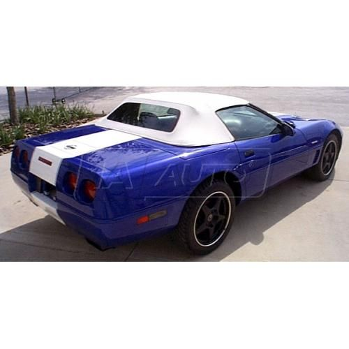 94-96 Chevy Corvette Convertible Top with Heated Glass in Pinpoint Vinyl