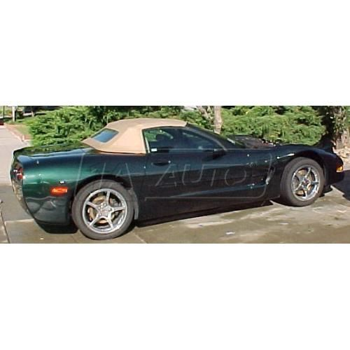 98-03 Chevy Corvette Convertible Top with Heated Glass in Pinpoint Vinyl