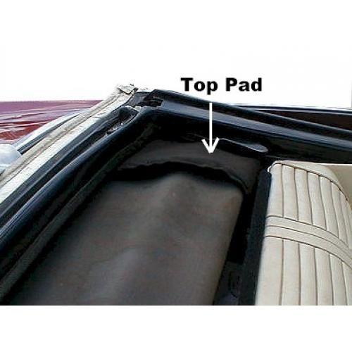 1967-68 LeSabre Bonneville Impala Convertible Top Pads
