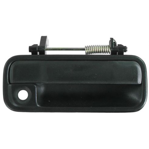 1990-93 Black 4 door with Manual Locks Passengers Front Outside Door Handle