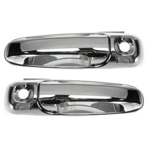 02-07 Dodge Ram 05-07 Dakota Exterior Chrome Door Handle Pair