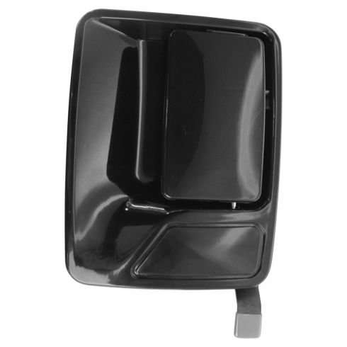 1999-09 Ford Super Duty PU Smooth Black Outside Door Handle LR