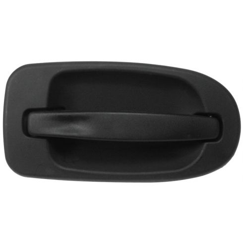 97-09 GM Mini Van Multifit Outside Sliding Door Handle Black LR
