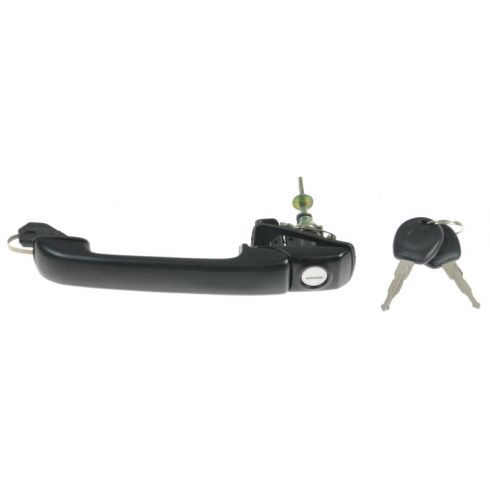 93-99 VW Jetta Golf Front Outside Door Handle w/Key LF = RF