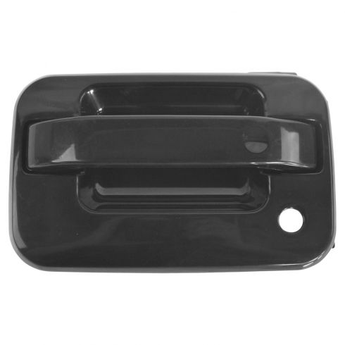 2004-10 Ford F150; 06-08 Lincoln Mark LT Outside Front Door Handle Gloss Black w/o Keyless LF