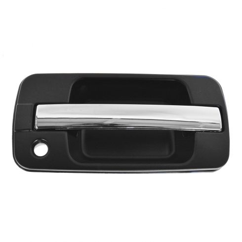 96-99 Acura SLX; 95-02 Isuzu Trooper 4dr Front Outside Black & Chrome Door Handle RF