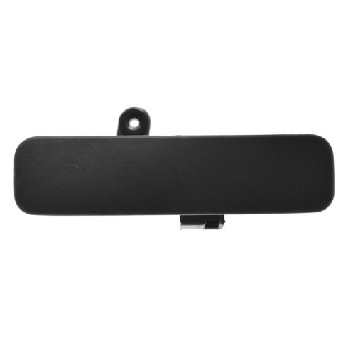 92-11 Ford Van Front Outside Textured Black Door Handle LF