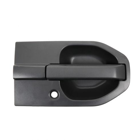 03-11 Honda Element Front Outside Textured Black Door Handle RF