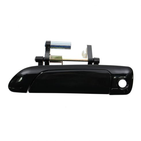 01-05 Honda Civic Cpe & Sdn; 02-05 Civic Hatchback Front Outer Smooth Black Door Handle LF