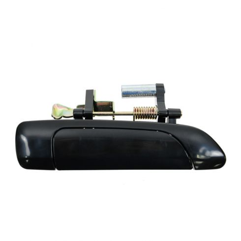 01-05 Honda Civic Sedan Rear Outer Smooth Black Door Handle RR