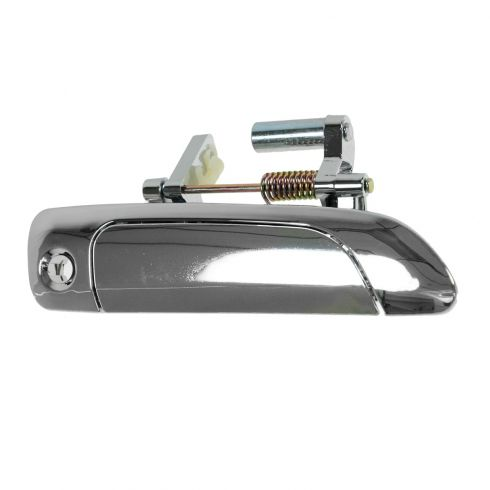01-05 Honda Civic Cpe & Sdn; 02-05 Civic Hatchback Front Outer ALL CHROME Door Handle RF