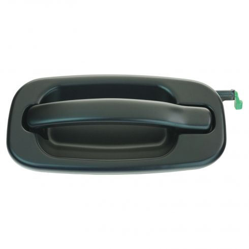 99-07 GM Full Size Pickup, SUV Rear Door Gloss Black Outer Door Handle LR