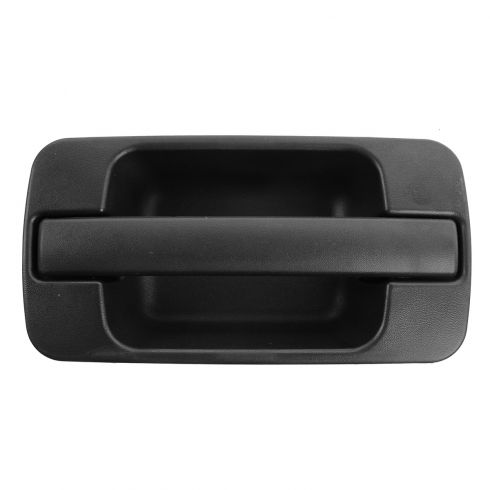 96-99 Acura SLX; 98-02 Trooper Rear Outer Textured Black Door Handle LR