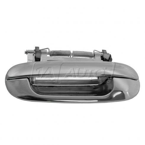 00-05 Cadillac Deville; 06-11 DTS Rear Outside All Chrome Door Handle LR