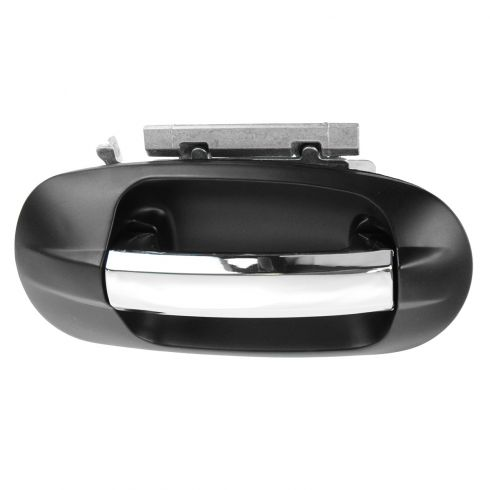 07-13 Ford Expedition, Lincoln Navigator Front Chrome & PTM Outside Door Handle (w/o Keyhole) RF